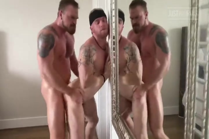 Four muscular guys hot fuck session - RickAndGriff