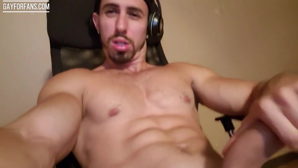 Shooting a load over my face and in my mouth - Jake Orion
