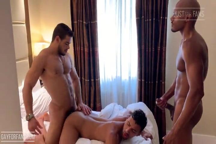 Threesome with Rhyheim Shabazz, Jay Alexander  & Rico Marlon