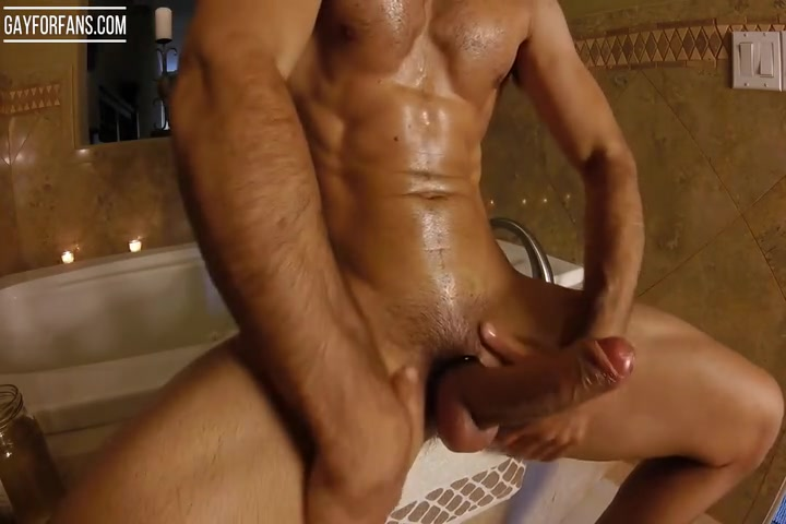 Brock Cooper fucking his Fleshlight and jerking off till her cums - mrcooperxxx