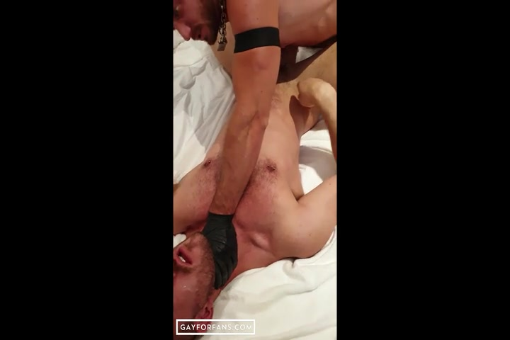 Punching, choking, spitting and fisting John Thomas - AlexFetishXXX
