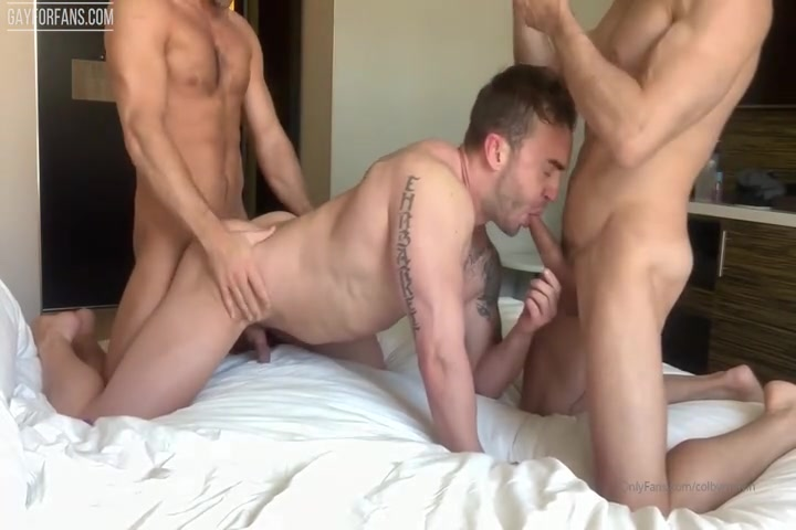 Acrodave And I Had This Hot Threesome With Pornstar And Bodybuilder Jake Ashford - Colby Melvin