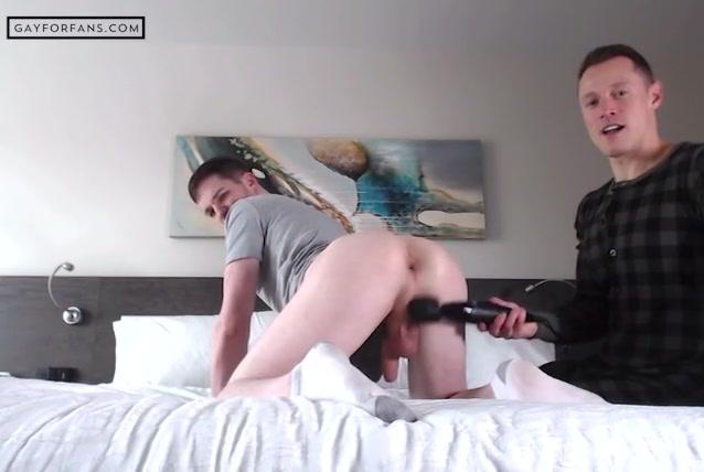 Davey Wavey Using Sex Toys On Thyle Knoxx