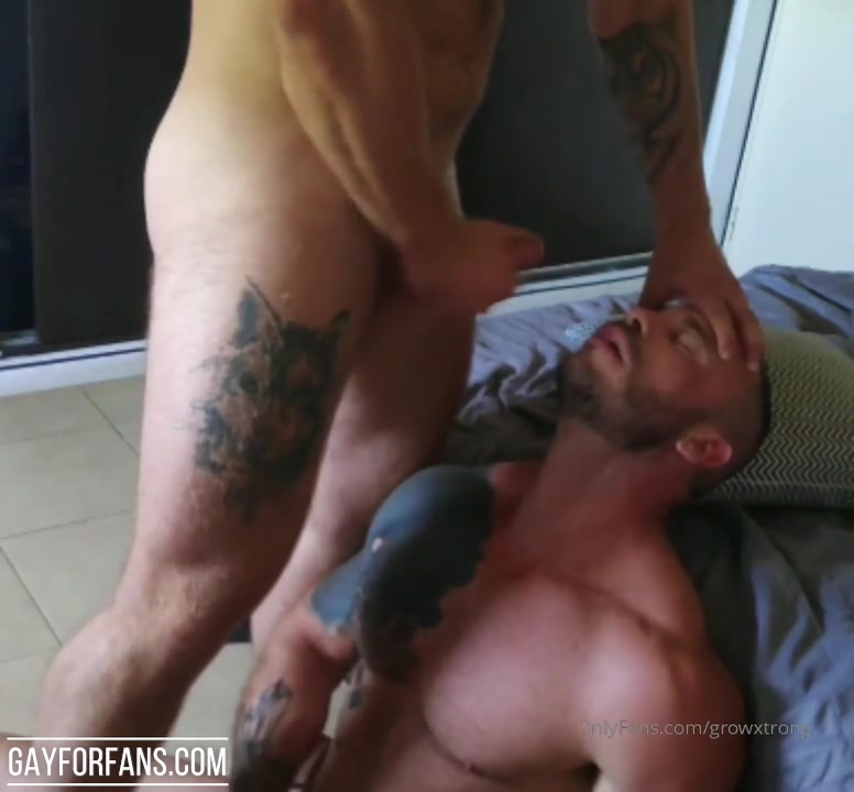 Cumming over my boyfriends face - Growxtrong