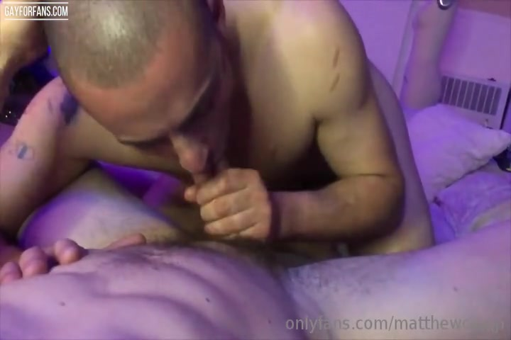 Giving Matthew Camp A Blowjob