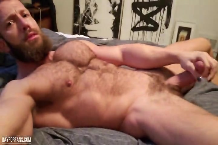 Morgxn Thicke jerking off and cumming over himself - morgxnthicke