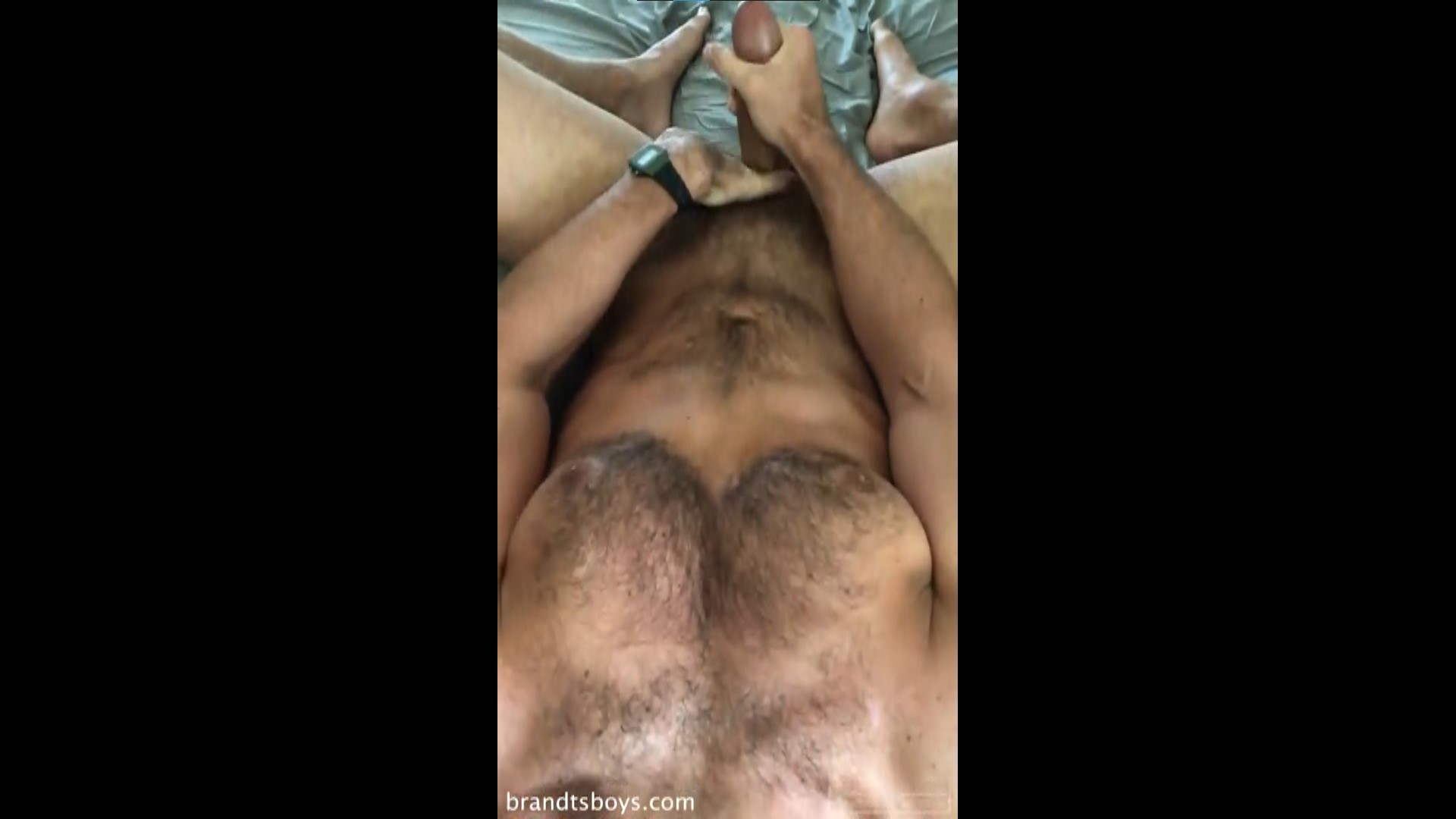 Chase being face fucked and jerking off - Chasexbrandt