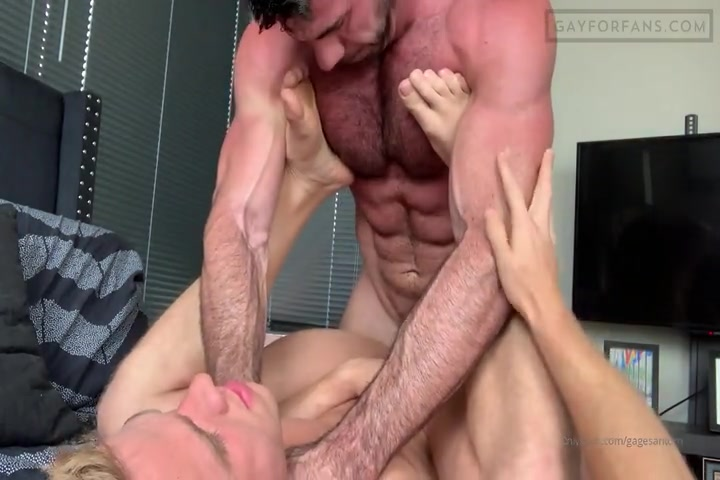 Fucking my boyfriends ass then throat fucking him - Gagesantoro