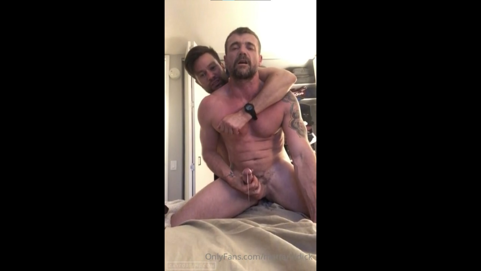 Getting my ass and throat fucked till I cum - MattandDick
