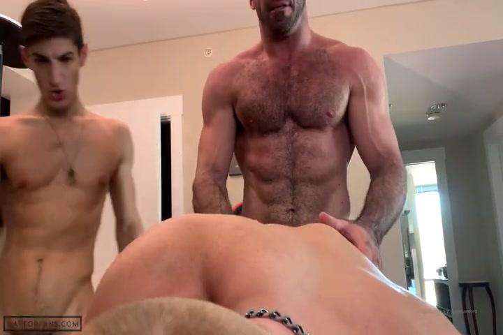 Threesome with my cum dump boyfriend - Gagesantoro