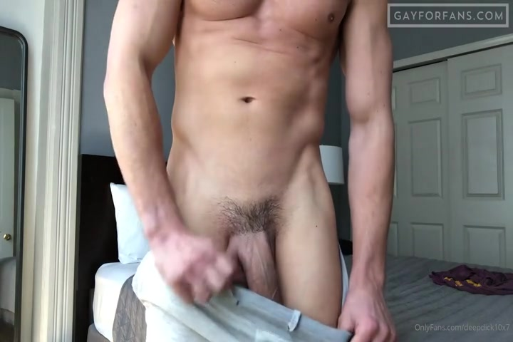 Showing off my huge cock - DeepDick10x7