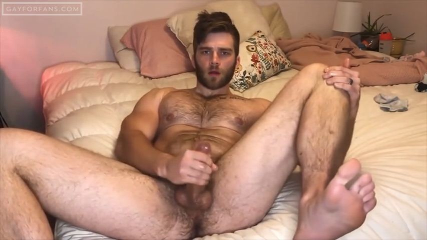 Hot slow jerk off session - Lexnstuff