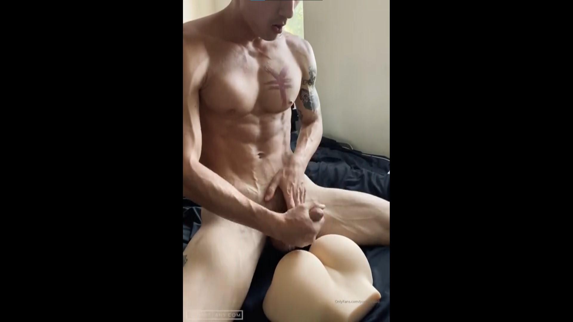 Fucking my sex toy and cumming over it - Cody Seiya (postmaload)