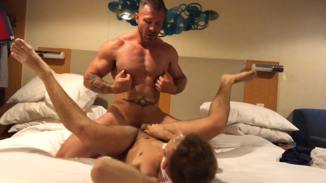 Austin Wolf fucks young twink and cums down his throat