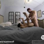 Austin fucking a young Asian twink
