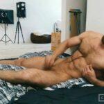Jerking off in bed - Kostya Kazenny