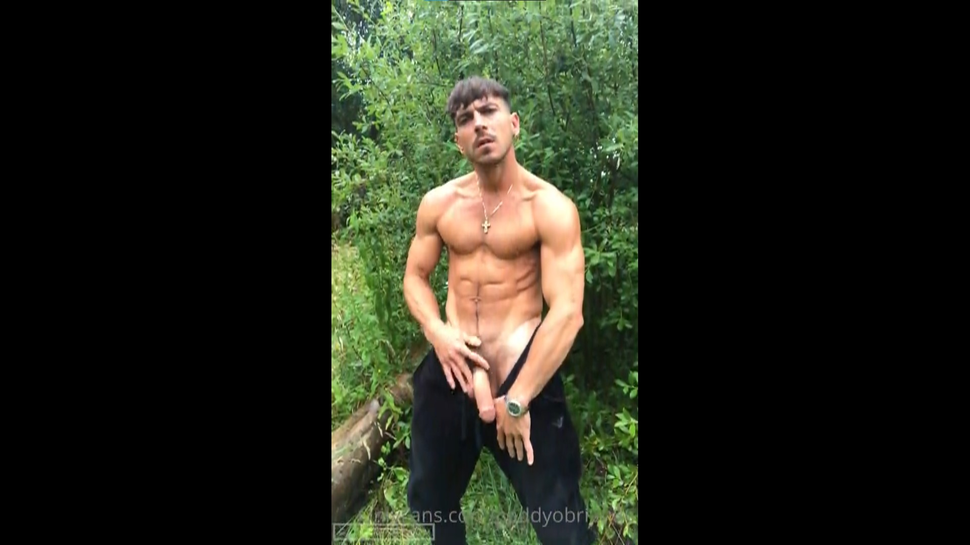 Jerking off in the woods - Paddy O'Brian