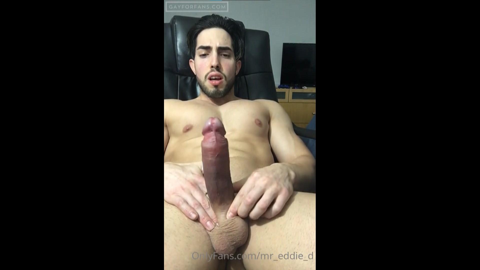 Jerking off and cumming hands free – Mr_eddie_d