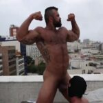 Rogan Richards in Brazil destroying his bottom sub