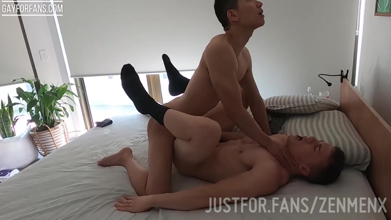 Young Asian Twink fucking his fit Australian boyfriend - Zenmenx