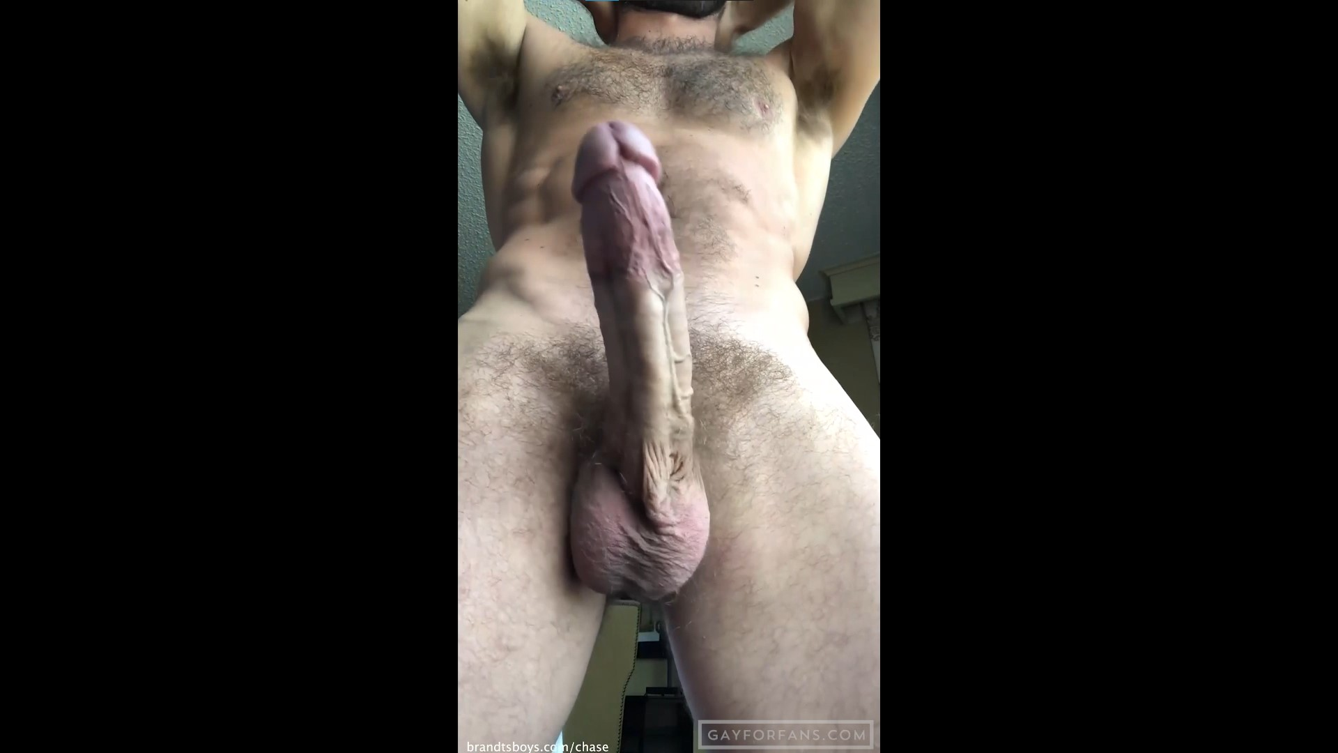 Jerking off after work - ChasexBrandt