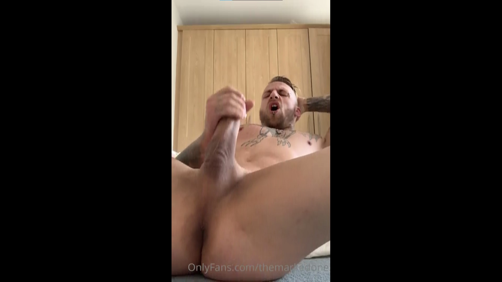 Quick solo jerk off - TheMarkedOne