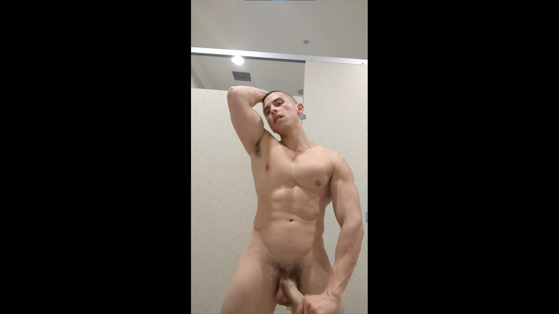 Jerking my cock and showing my hole - DanteMartinXXX