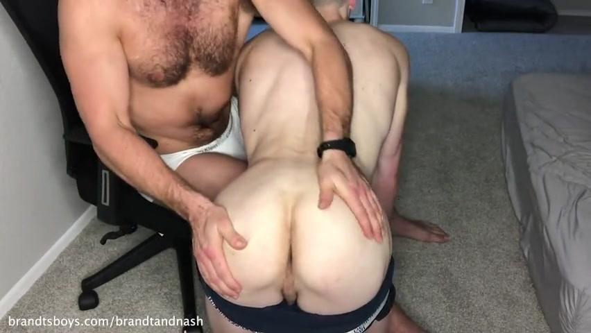 Chase teases Nash till he cums - BrandtandNash - ChasexBrandt
