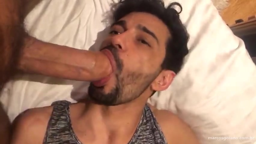 Getting fucked by a huge 10 inch cock - Marcos Goiano