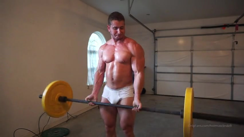 Working out in my underwear - Hotmuscles6t9