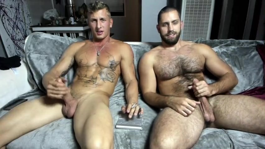 Jerking my cock with a mate - Julian Jaxon
