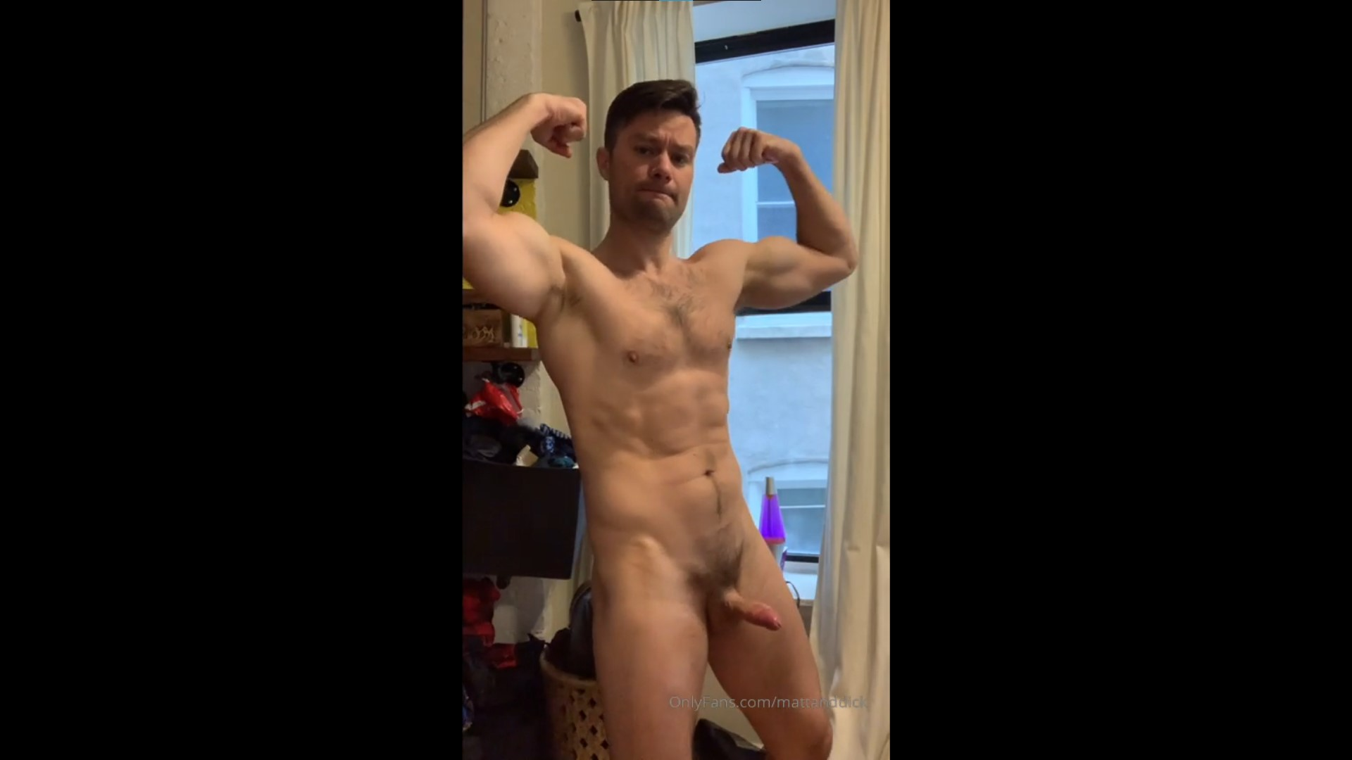 Stroking my dick till I shoot my load - MattandDick