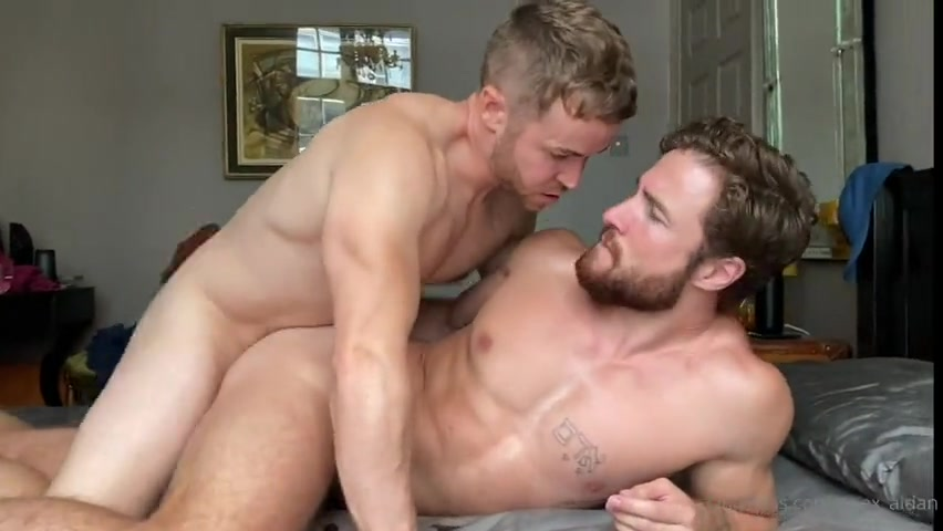 Threesome with Igor Miller and Gabriel Cross - Part 1 - Aidan Ward