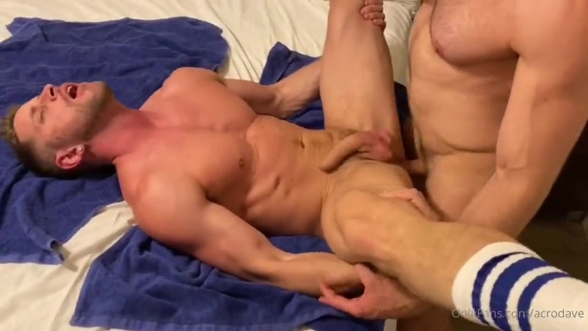 Fucking a muscular stud hard and dumping my load in him - Davide Zongoli (Acrodave)