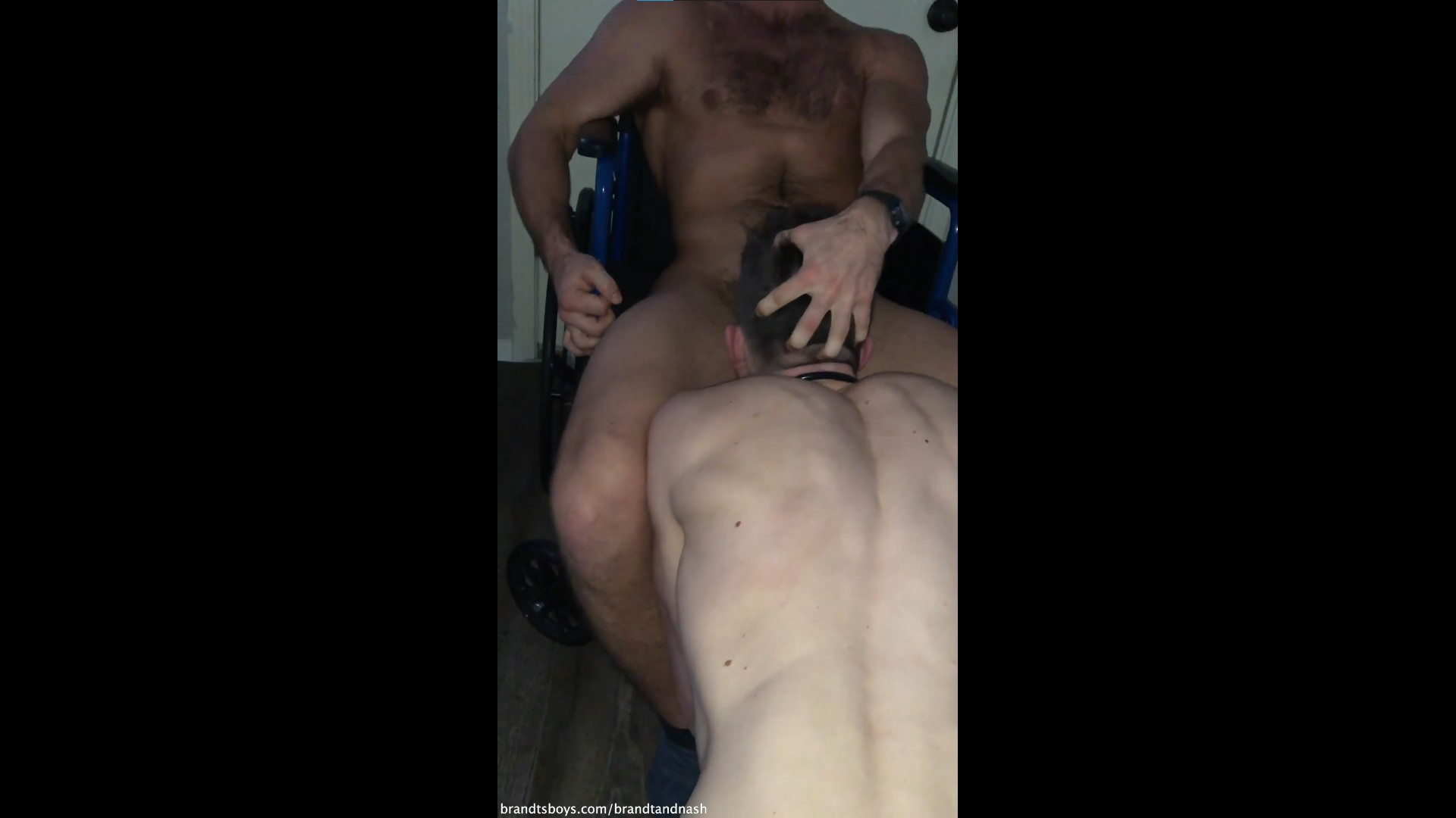 Chase throat fucks Nash - ChasexBrandt - BrandtandNash