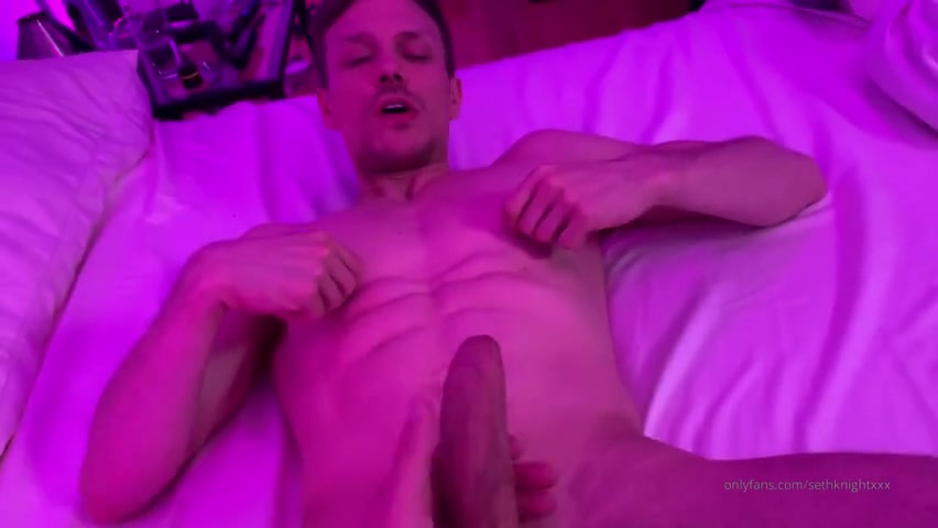Fucking a hot muscular stud till we both cum - Seth Knight