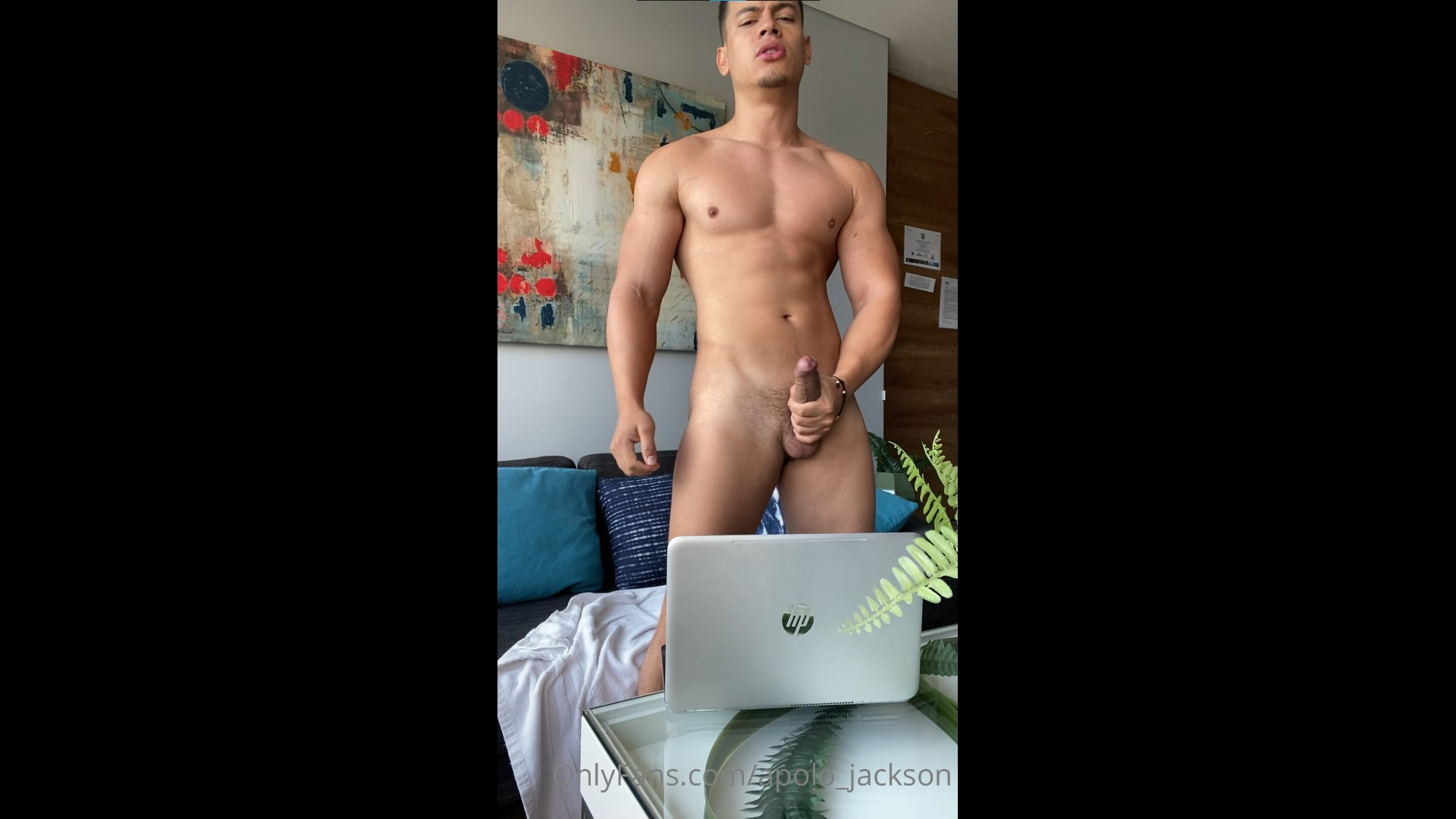 Jerking my cock while watching porn - apolo_jackson
