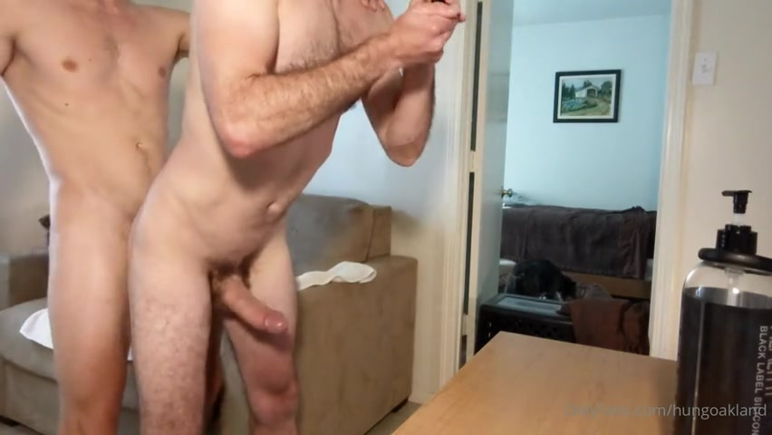 Getting my ass fucked and both cumming - Hungoakland