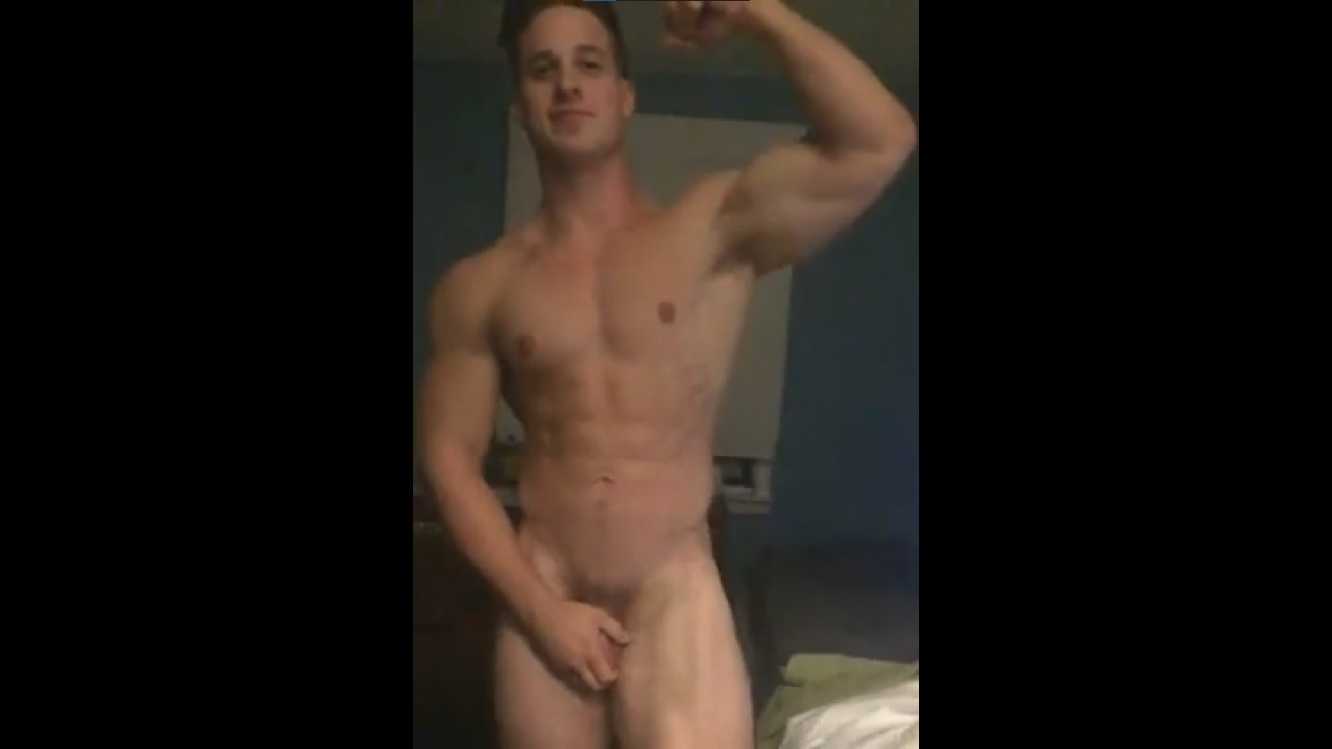Flexing and showing off my cock [Classics]- Nick Sandell