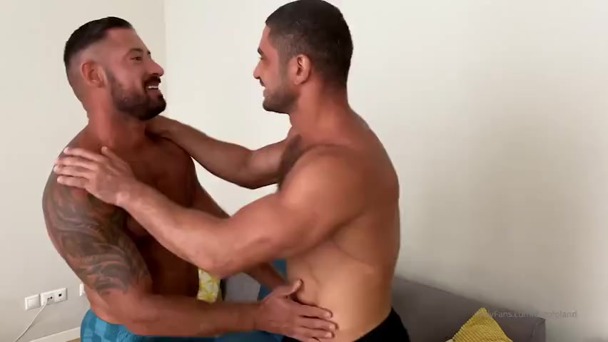 Threesome with Dato Foland, Musclebeach32 and his boyfriend