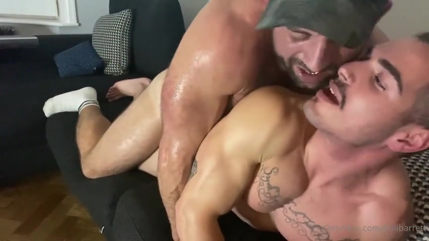 Breeding a hot young muscle stud - Bull Barrett
