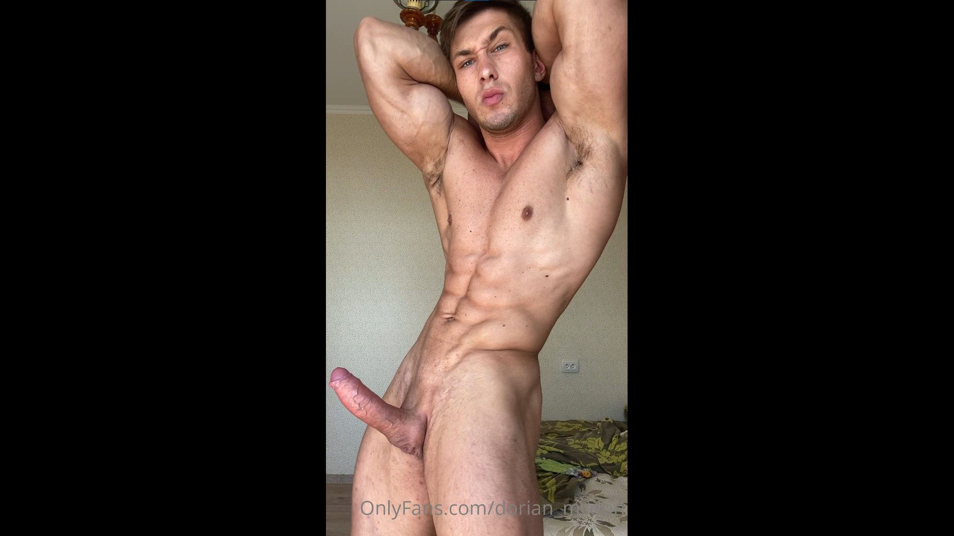 Showing off my body and hard cock - Dorian McDon