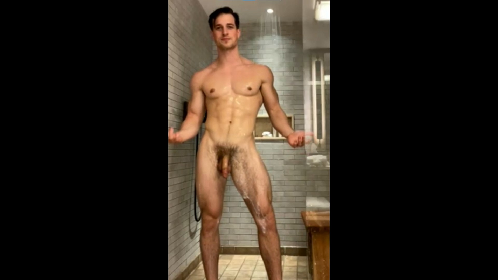 Having a quick shower - Nick Sandell