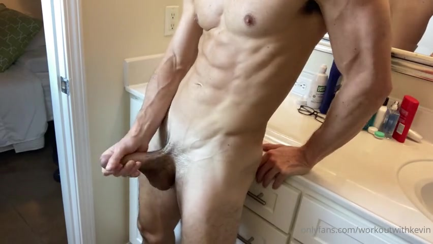 Jerking off after work - Kevin Cook (WorkoutwithKevin)