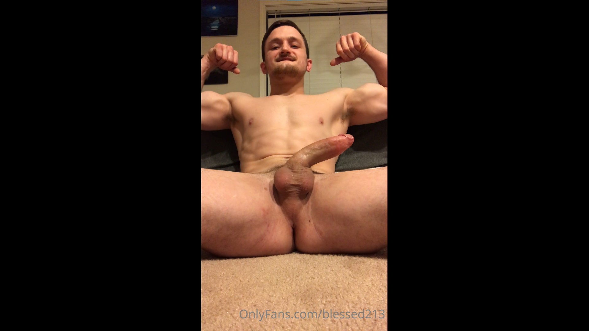 Jerking off hard and showing off my ass - blessed213