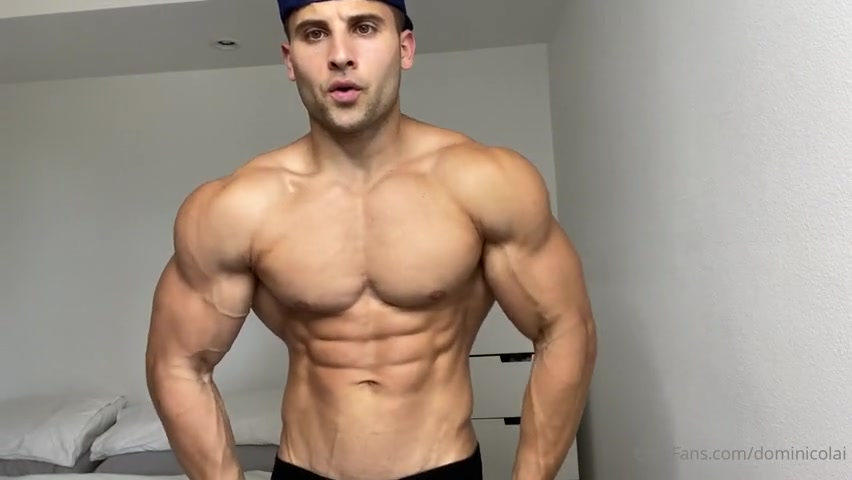 Showing off my muscular arms and legs - Dominick Nicolai (dominicolai)