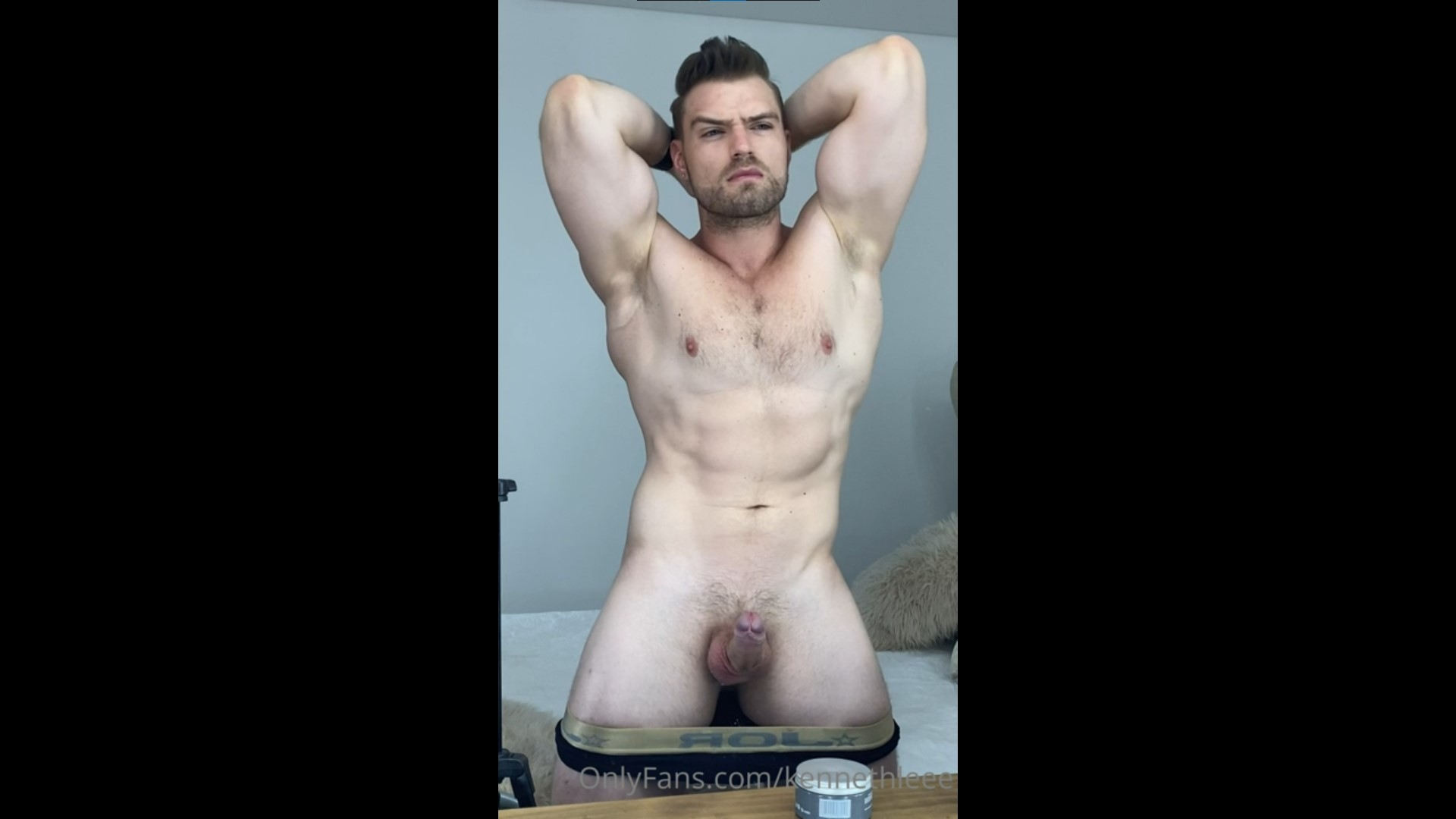 Jerking off hard till I cum - Kenneth Lee (kennethleee)