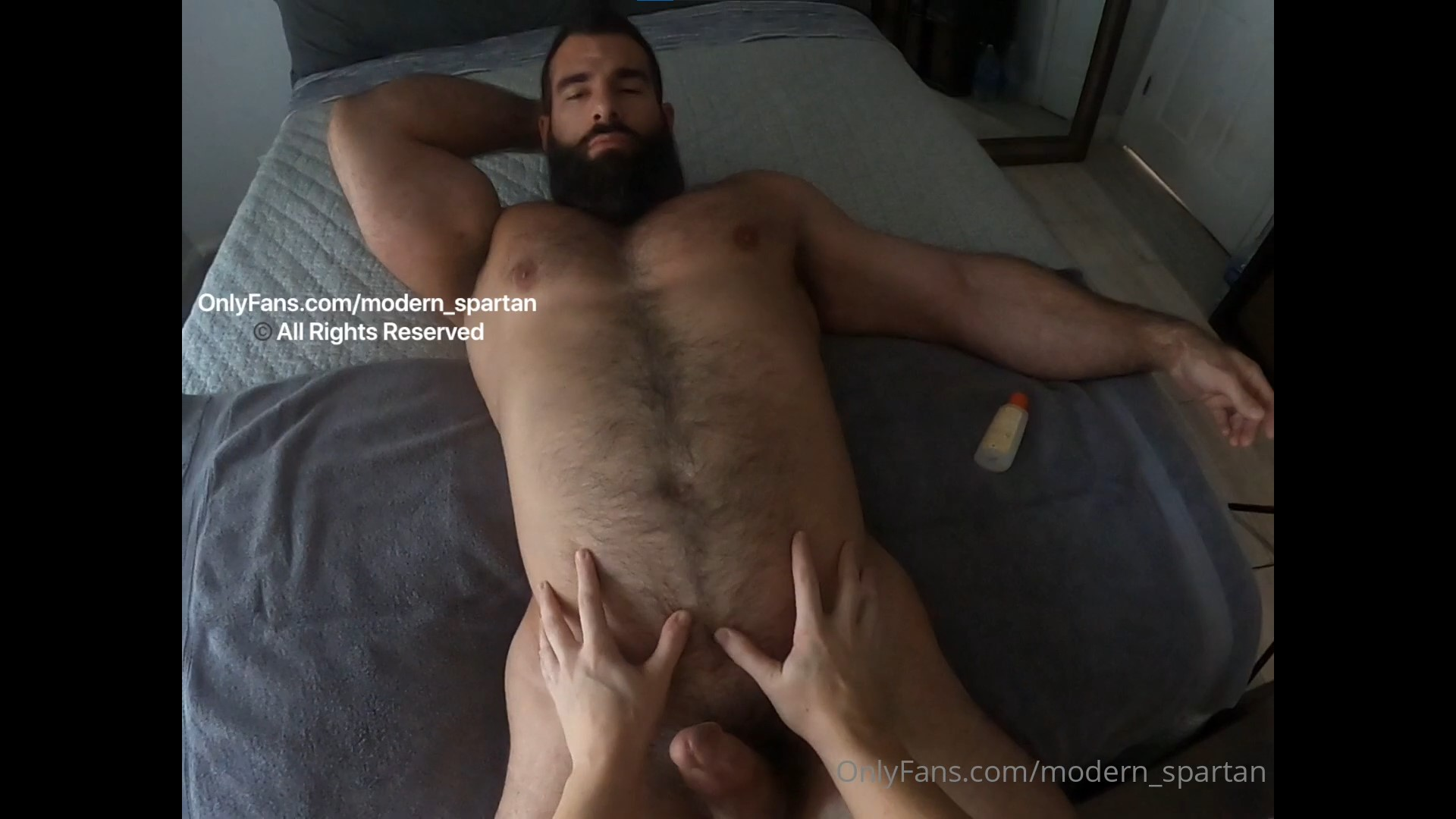 Getting a hand job and having my ass played with - Nick Pulos (modern_spartan)