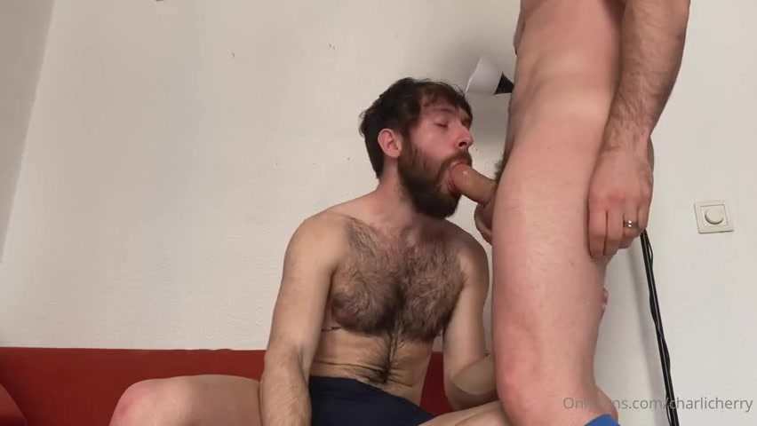 HairyCharly gives Charlie Cherry a blowjob