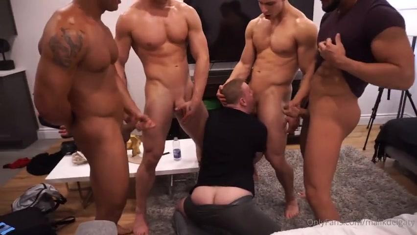 A lucky fans takes turn sucking our cocks - Malik Delgaty - CreamyGorilla